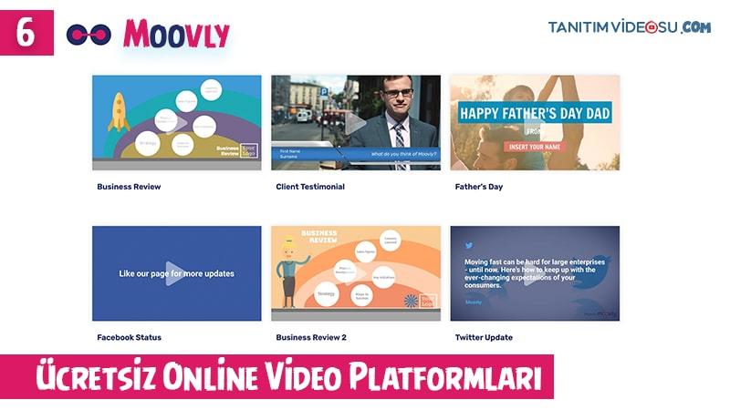 6 - Moovly online ücretsiz video editör